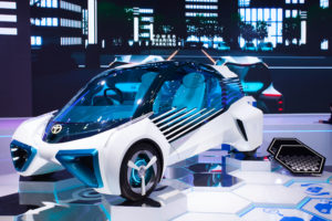 """alt text =""""hydrogen fuel concept car"""""""