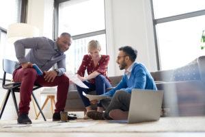 """Alt text =""""millenials at work. 12 step carerr advice for millennials"""""""""""