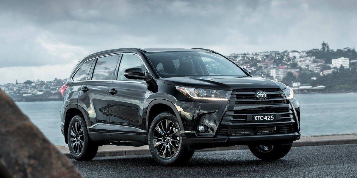 2018 Toyota Kluger: Specs, Design, Arrival >> Kluger Black Edition Has Arrived At Waverley Toyota