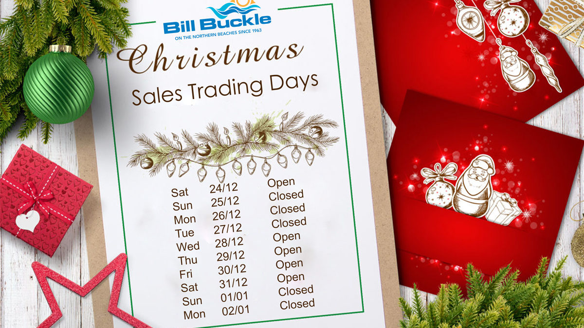 Trading Christmas.Bill Buckle Northern Beaches 2016 Christmas Trading Days