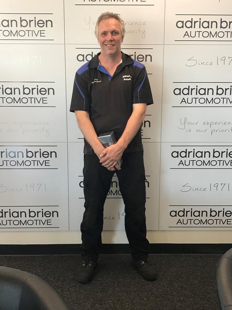 David Baulderstone - Hyundai Master Technician.