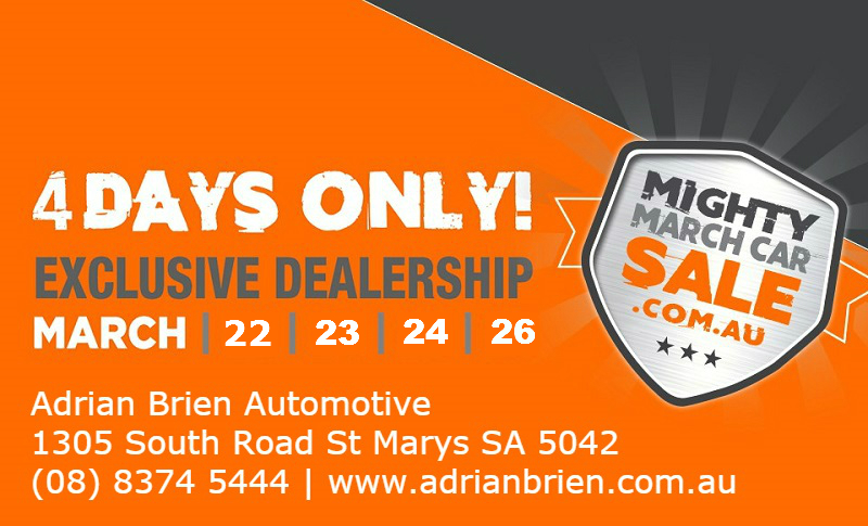 The Mighty March Car Sale 2018 At Adrian Brien Automotive