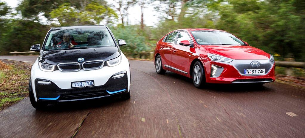 Hyundai Ioniq Ev >> Hyundai Ioniq Electric Premium And Bmw I3s Motors Hyundai