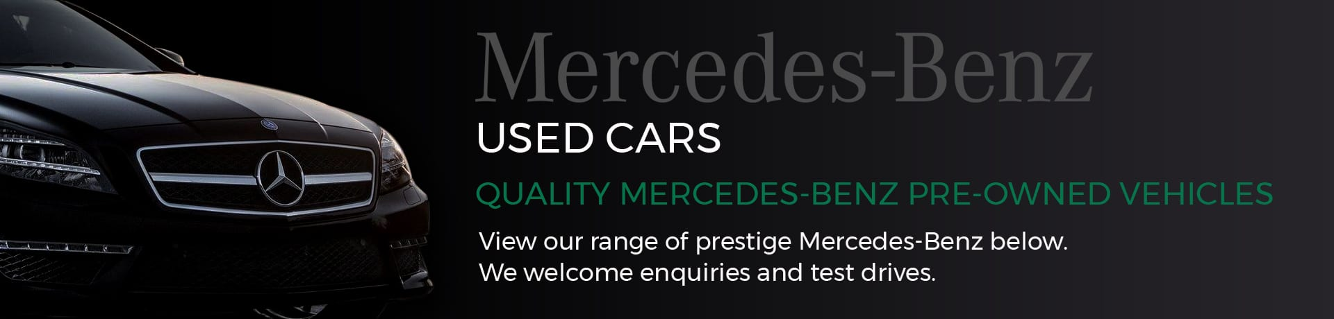 Mercedes-Benz used cars