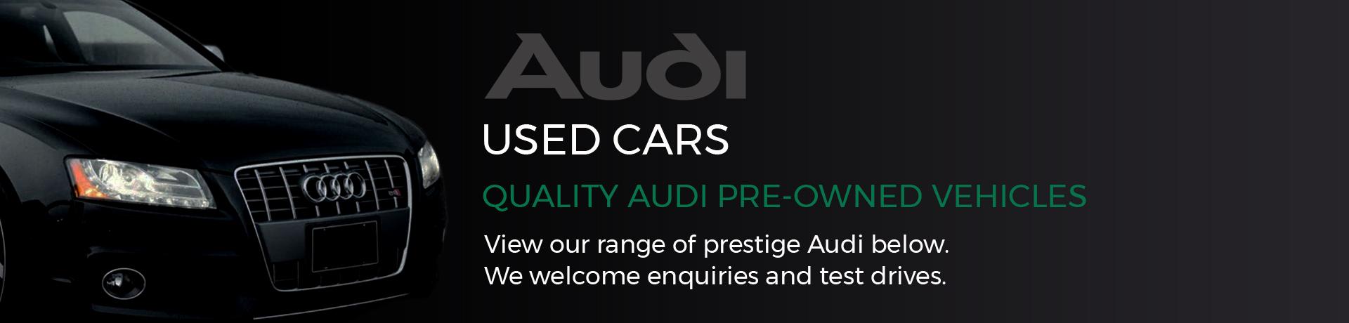Audi Used Cars Adelaide