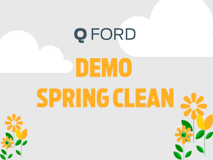 Ford Demo Spring Clean