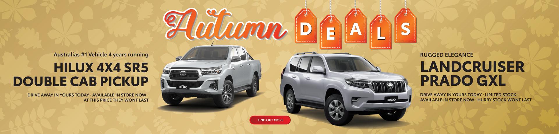 Autumn Deals at John Cole Toyota