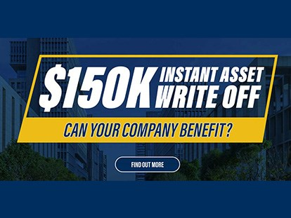 Instant asset tax write-off