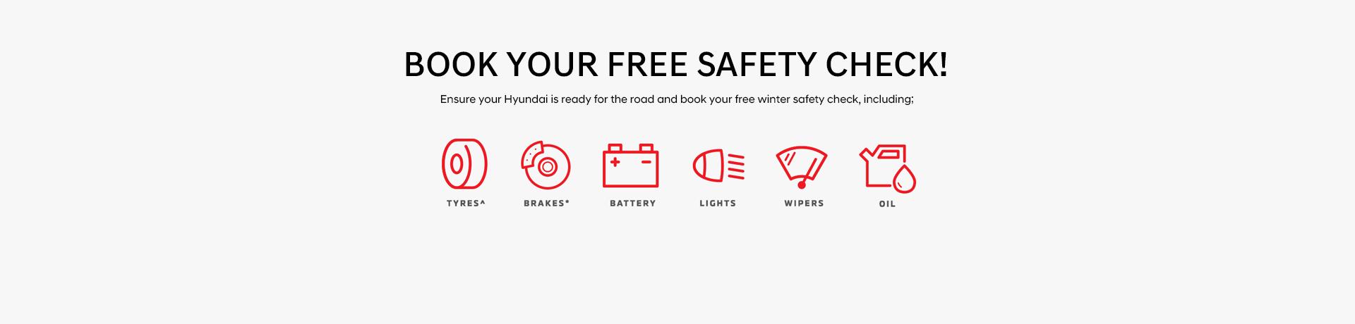 Image of safety check banner at Zupps Aspley Hyundai