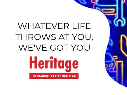 Heritage Used Car Market - Mechanical PRotection Plan