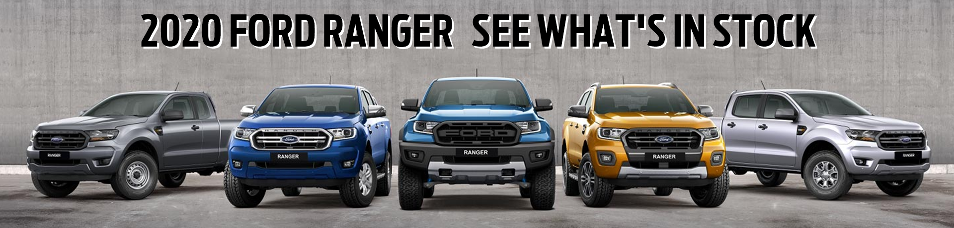 NEW CAR STOCK FORD RANGER 2020 PX MKIII
