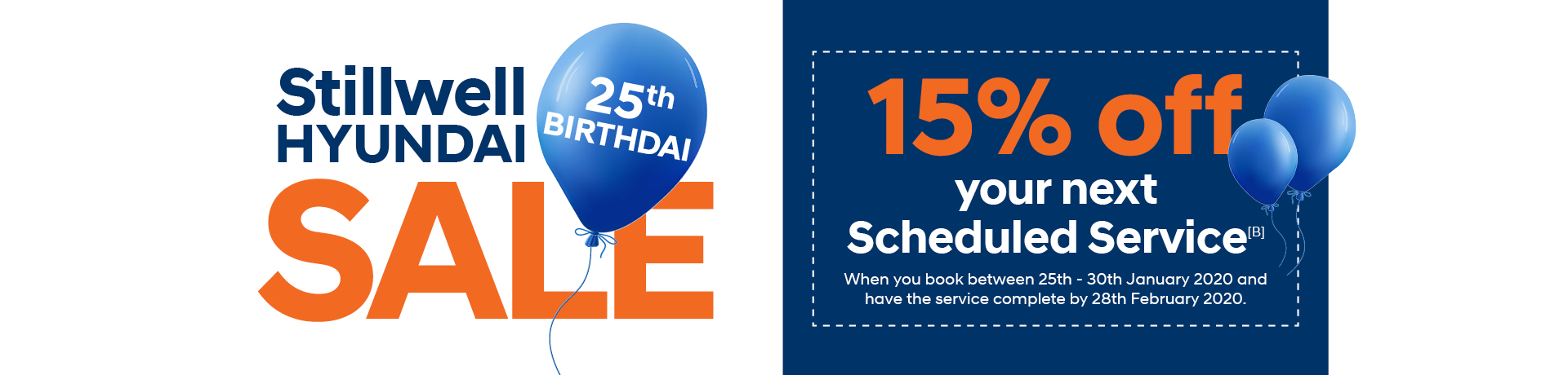Birthday Sale Service Offer